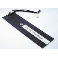 Wholesale Custom Printed Clothing Labels Plastic Hang Tags With UV Technics from china suppliers