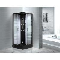 Wholesale Matt Black Profiles Sliding Glass Door Shower Enclosure Kits For Star-Rated Hotels from china suppliers