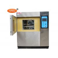 Wholesale 49 Liters Touch Screen Cold Thermal Shock Chamber with Stainless Steel Material from china suppliers