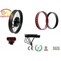 Wholesale Haitian Type Battery Fat Tire Electric Bike Conversion Kit With Twist Throttle from china suppliers