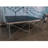 Wholesale Aluminum Folding Movable Stage Platform with 18mm thickness Anti-slip Plywood from china suppliers