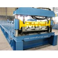 Wholesale Steel Structural Floor Deck Roll Forming Machine from china suppliers