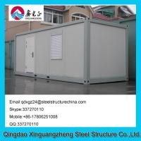 Wholesale Sandwich panel frame flat pack living container house with one window from china suppliers