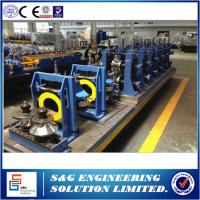 Wholesale Round Ss Pipe Welded Pipe Making Machine , High Frequency Automatic Pipe Welding Machine from china suppliers