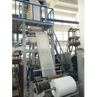 High Speed PE Film Blowing Machine ABA Three Layer Co - Extrusion