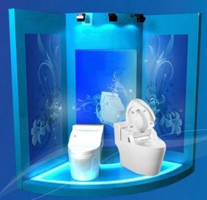 Automatic Body-cleaning Toilet,  Intelligent Sanitary Toilet Seat,  Toilet bidet,  toilet cover-KSHT-585
