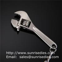 Wholesale Metal tool wrench holder key tags, in stock metal spanner tool pendant keychains from china suppliers