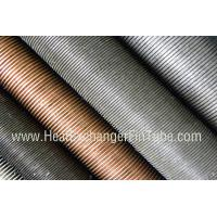 Wholesale Condenser Copper Finned Tube , C12200 / C12100 / C68700 / C70600 / C71500 from china suppliers