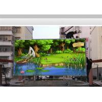 Wholesale Fixed Install P6 Led Billboard Outside Advertising , Large Led Video Panel 768 X 768mm from china suppliers