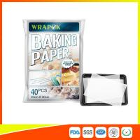 Wholesale Waterproof Baking Paper Sheets / Non Toxic Parchment Paper Heat Resistant 20 * 30cm from china suppliers