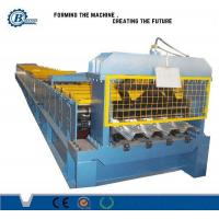 Wholesale 230 - 550 Mpa Automatic Floor Deck Roll Forming Machine For Construstion from china suppliers