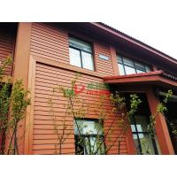 Wholesale Waterproof Outdoor WPC Exterior Wall Cladding No Pollution Little Maintenance from china suppliers