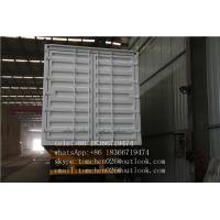 Wholesale 3 Axles Dry Cargos Transport Box Semi Trailer Common mechanical Suspension from china suppliers