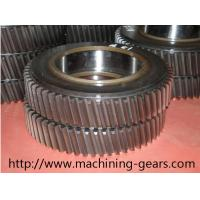 Wholesale Machinery Parts Large Diameter Spur Helical Gear 20mm - 2200mm Diameter from china suppliers