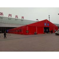 Quality Big Aluminium frame Red PVC cover Marquee Commercial Canopy Tent for Outdoor Party for sale