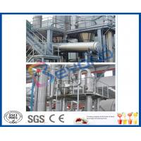 Wholesale Full Auto / Semi Auto 15TPH Multiple Effect Evaporator For Pineapple Juice Concentrator from china suppliers