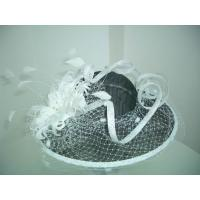 Quality Ladies'Fashion sinamay hat for sale