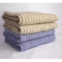 Wholesale 100% Cotton Jacquard Hotel Supply Towels For Bath , Face And Hand from china suppliers