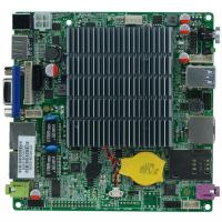 Wholesale 12*12cm Baytrail Motherboard with Dual Lan Quad Core Mainboard J1800 nano itx motherboard from china suppliers
