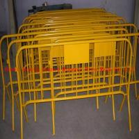 Wholesale hotsale used orange concert crowded control metal barrier fence(ISO 9001) from china suppliers