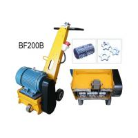 Wholesale Hand Push Rust Removal Floor Scarifying Machine With 7.5KW 380V 50HZ Motor from china suppliers