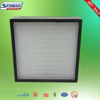 Wholesale Non Separator Mini Pleated Hepa Air Filters H13 Aluminum Frame from china suppliers