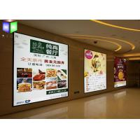 Wholesale Illuminated Restaurant Slim LED Light Box Magnetic Frame High Brightness from china suppliers