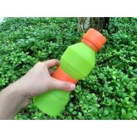 Wholesale 500ML FDA Approved Food Grade Silicone Water Bottle Unbreakable from china suppliers