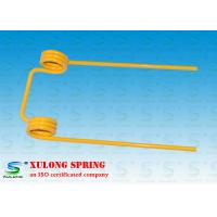Wholesale 12mm Wire Double Torsion Springs Yellow Powder Coated For Agriculture Machinery from china suppliers