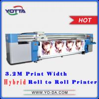 Buy cheap uv hybrid printing machine price in China from wholesalers