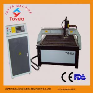 Quality Hypertherm plasma cutting machine with 1300 x 2500mm,servo motor ,HIWIN square linear rail TYE-1325 for sale