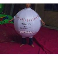 Wholesale Promotion Lovely Inflatable Ball Advertising Costumes With FR rip stop nylon from china suppliers