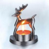 Buy cheap deer Christmas gifts, candle holder, tealight candle holder, table decoration for home from wholesalers