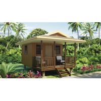 Wholesale Heat Insulation Prefabricated Home Beach Bungalows , Beach House Bungalow from china suppliers