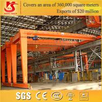 Wholesale Crane Hometown BMH Single Girder Semi Goliath half gantry crane from china suppliers