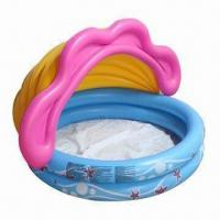 Wholesale Inflatable Babies' Pool, Made of PVC Material, Customized Logos Accepted from china suppliers