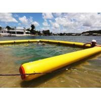 Quality Easy Carrying Inflatable Air Mat For 6 * 4M Boom Blow Up Swimming Pools for sale