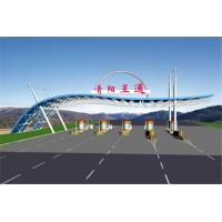 PVDF Tensile Membrane Structure Gymnasium Stadium Canopy Roofing With Custom Color