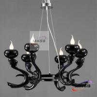 Wholesale Art Italian Style Modern Resin Indoor Chandelier Six Lamps MS-P3013 MASO Lighting from china suppliers