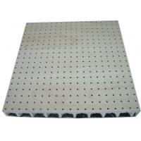 Wholesale MDF Wooden Perforated Acoustic Panel , Soundproofing Ceiling Tiles from china suppliers