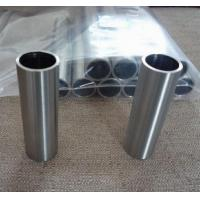 Wholesale annealed tantalum pipe, tantalum tube RO5200, RO5400, RO5252(Ta2.5W), RO5255(Ta10W) from china suppliers