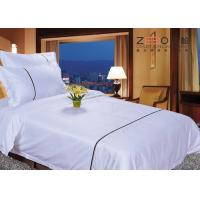 Wholesale Double Size Hotel Bed Linen / Hotel Style Bedding Sets For 4 Star from china suppliers