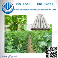 Buy cheap Solid Round Pultrusion High Strength Light Weight FRP Fiberglass Strip from wholesalers