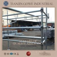 Quality Hot dip galvanized Steel Cuplock Scaffolding System For building bridges for sale