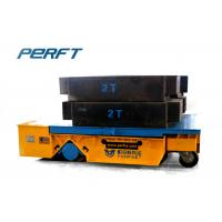 Wholesale Trackless Handling Bogie Trackless Transfer Car Industrial Material Handling Equipment from china suppliers