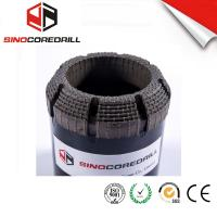 Wholesale Face Discharge Step Natural Diamond Core Bit HQ3 Surface Set Drill Bits from china suppliers