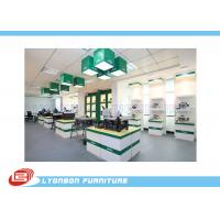 Wholesale Fashion White green Wooden Display Stands For Tool , MDF Retail Store Fixtures from china suppliers
