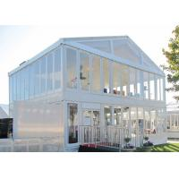 Wholesale Outside Windproof Double Decker Tents Marquees For Celebrations from china suppliers
