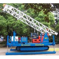 Wholesale Hydraulic Chuck Crawler Drilling Rig Hydraulic , Portable Drilling Machine from china suppliers