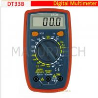 Wholesale 3 1/2 Digital Multimeter 200mV-500V  DT33B from china suppliers